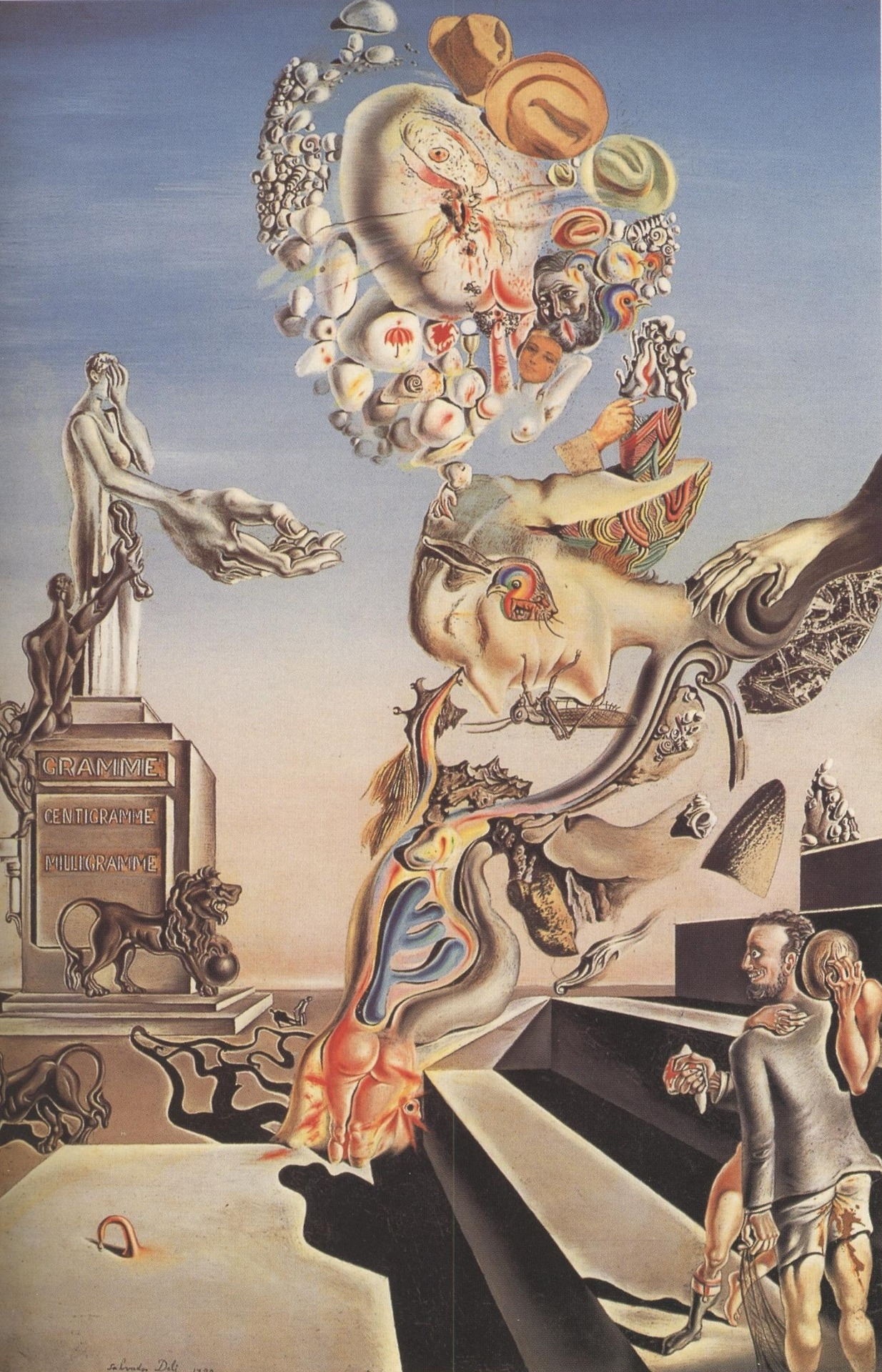 The Lugubrious Game-Dali (1929)